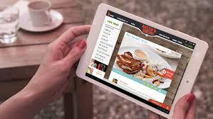 Özel Restoran Uygulaması: Masa Üstü Dijital Menü