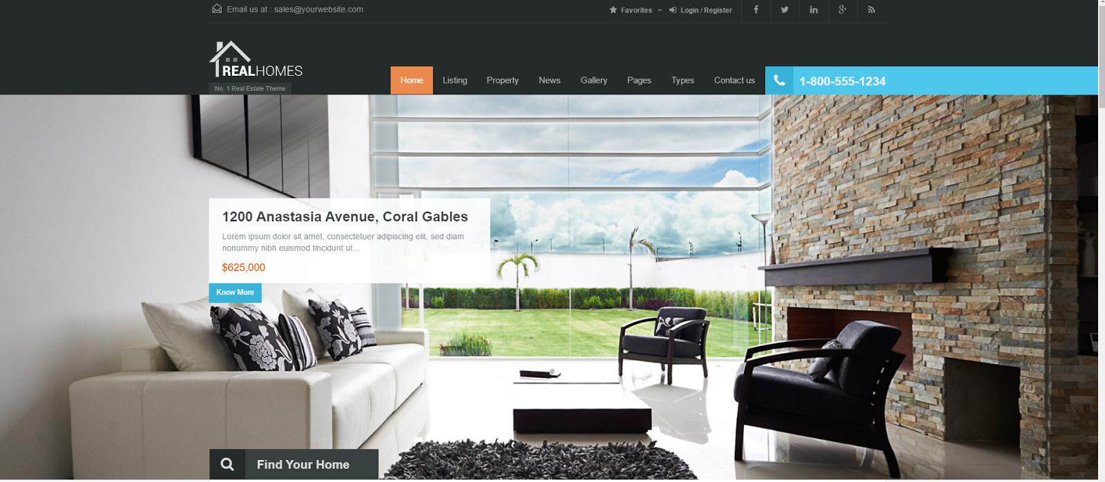 Emlak Web Tasarım Örnekleri