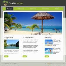 Turizm Web Sitesi Tasarımı