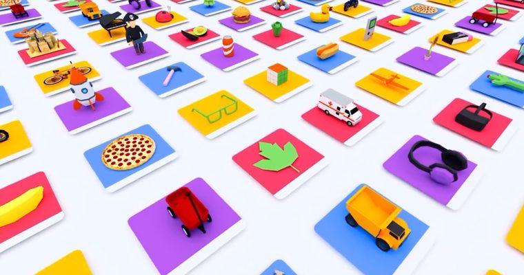 Google, Apps'ta Kullanılacak 3D Nesneleri İçin Arama Motoru Oluşturdu